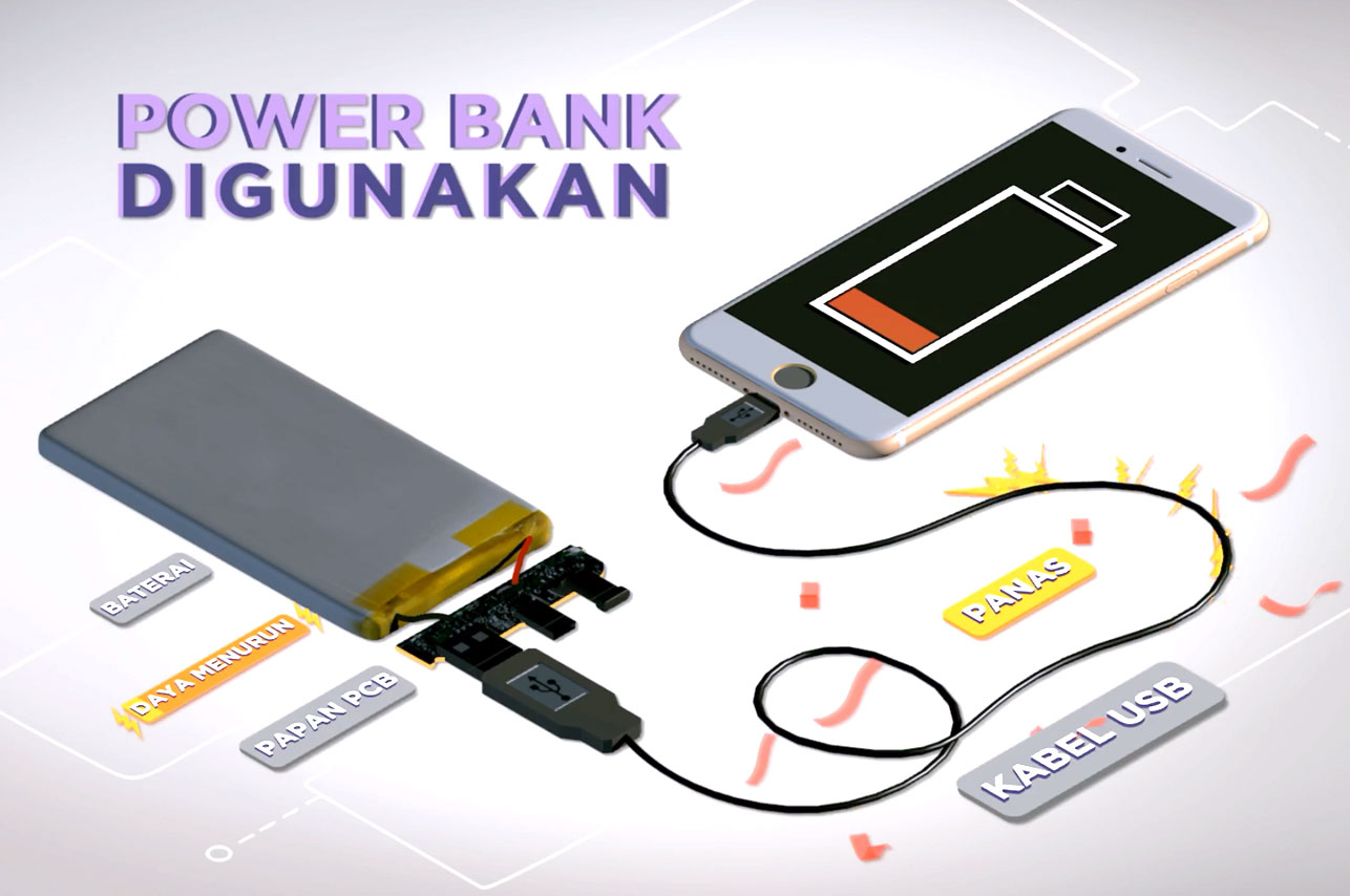 kehilangan power pada power bank